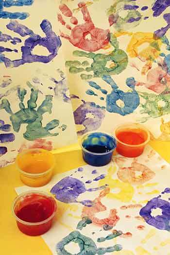 hand-prints